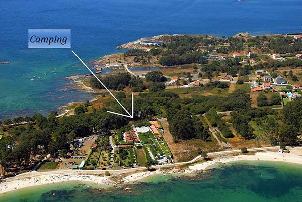 047d1b47919e8 Edén Playa Camping y Bungalows. Illa de Arousa Pontevedra Ría Arosa ...